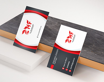 business card design zhf