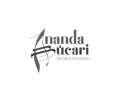 Logotipo - Ananda Búcari Escuela de Danza
