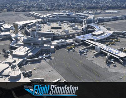 San Francisco Airport Microsoft Flight Simulator