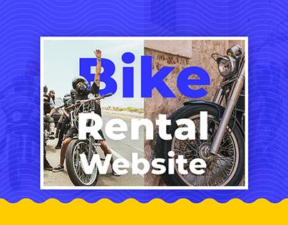 Redesign Bike Rental Website