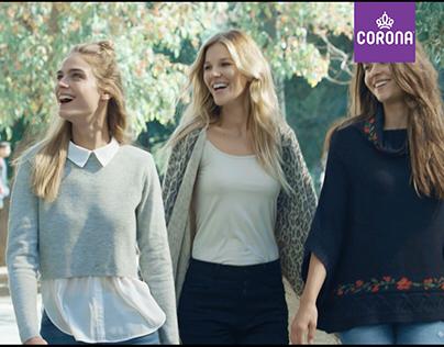 CORONA - SPOT TV / TEJIDOS Y BOTINES
