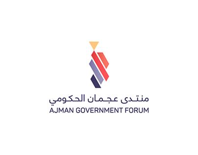 Ajman Government Forum 2017   Logo & Identity   UAE