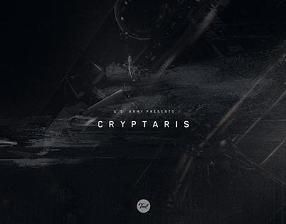 Cryptaris - Interstitial Motion Graphics
