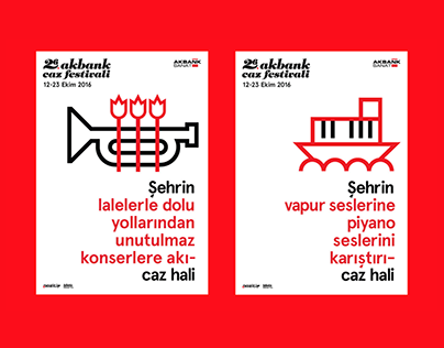 26th Istanbul Jazz Festival Campaign