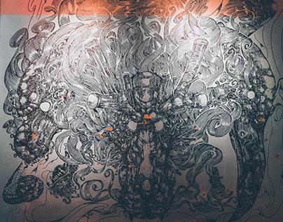 BOUND UV Mural