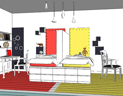 SketchUp Interior Design