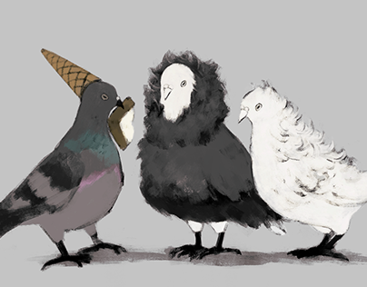 Pigeon's Party / 鳩パーティー
