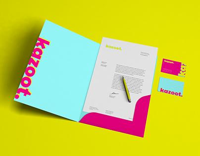 Kazoot. Branding