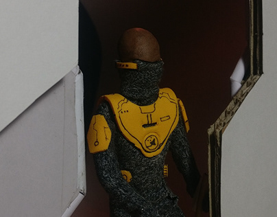 The Spaceman: Stop Motion Short