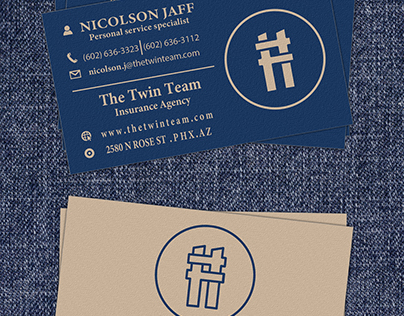 Double T Business Card