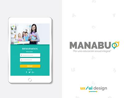 MANABU - Proyecto de título UX/UI Design