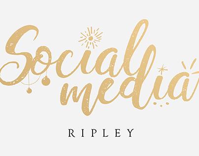 RIPLEY SOCIAL MEDIA - Campaña Navidad