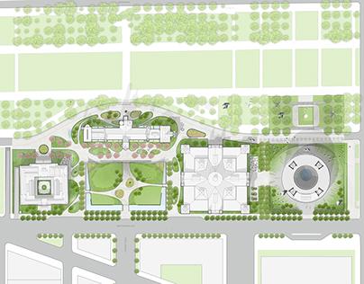 Smithsonian South Campus Masterplan