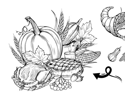 The BUNDLE of Thanksgiving Graphics