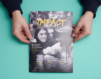 Editorial Design and Storytelling for an Impact Report