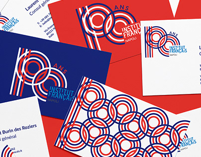 Branding - French Institute of Naples's centenary