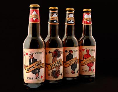Jackeen Beer Labels