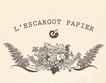 L'Escargot Papier Visual Branding