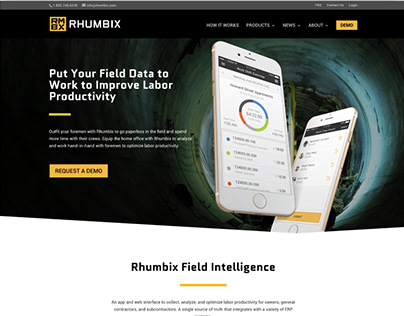 Rhumbix Website