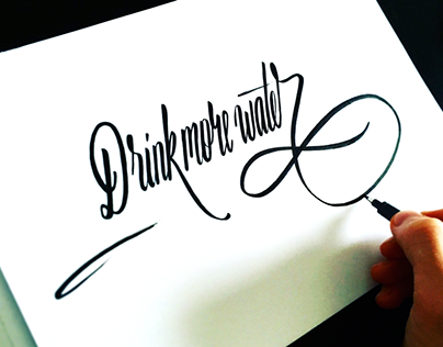 Summer/autumn lettering 2015