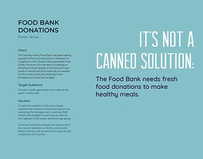 Food Bank Poster Series