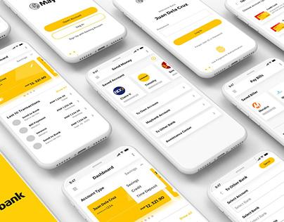 Maybank Philippines - App Redesign