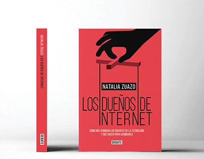 """Portada & Booktrailer """" Los dueños de internet"""""""