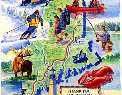 Maine Visitors