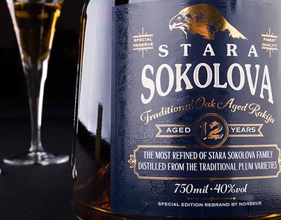 Stara Sokolova Traditional Oak Aged Rakija