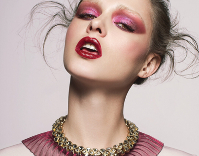 Beauty editorial for Remark magazine