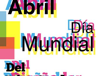 Día del Diseñador Cartel