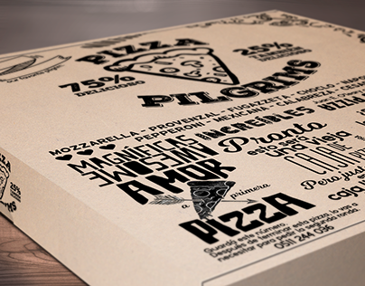 Pilgrims | Pizza Box