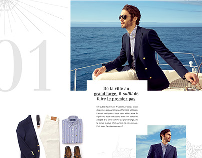 Over the sea with Ralph Lauren