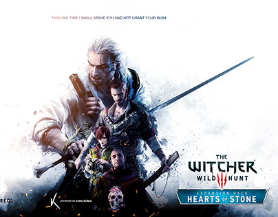 The Witcher: Hearts of Stone - Fan Poster