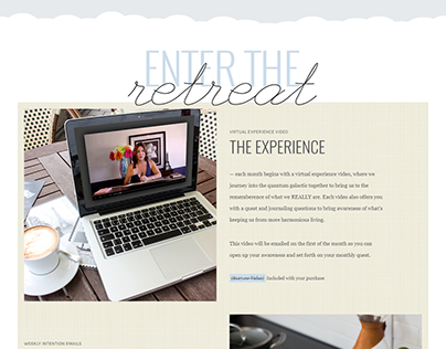 Membership Sales Page, Branding, and Email Design.