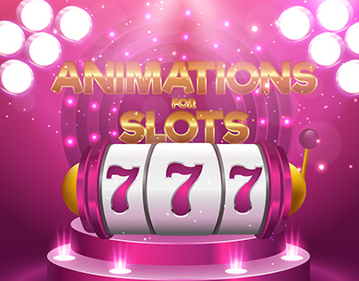 Animations for slots Spine 2D