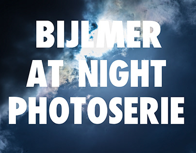 Bijlmer at Night Photoserie By Dacosta Photography