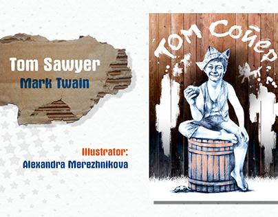 Tom Sawyer. Illustrations