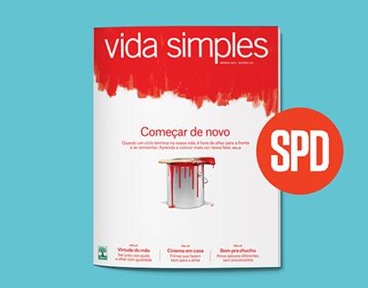 Vida Simples' covers