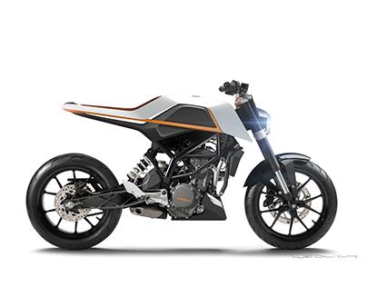 KTM DUKE 200 Redesign (2016)