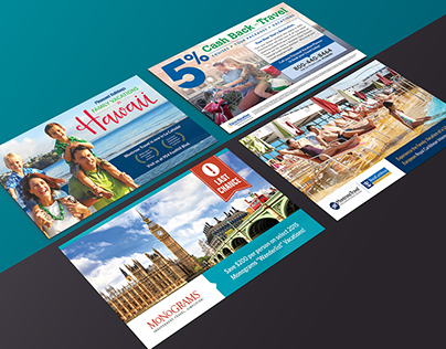 Montrose Travel // Postcard Direct Mailer