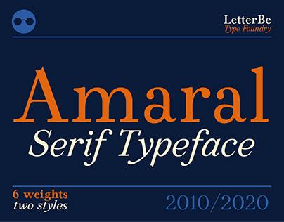 Amaral - Serif Typeface