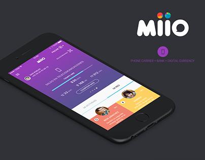 MIIO - App UI / UX