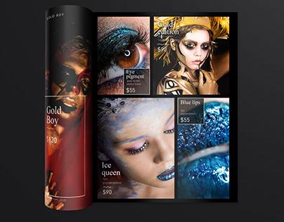 IzabelNeagu Make Up Visual Identity