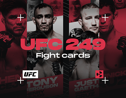 UFC 249 | Fight Cards | Event Graphics