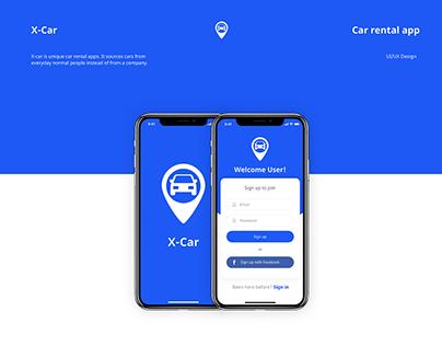 X-Car Mobile App