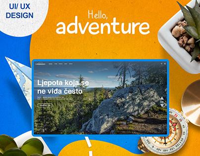 UI/UX Design-Tourism Organization Rozaje