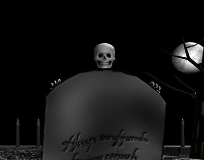 Skeleton 3D animation