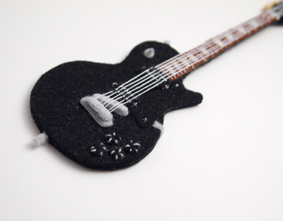 Felty Gibson Guitar.