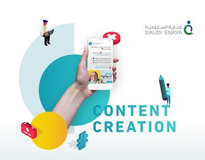 Saudi Enaya Co.   SM Marketing & Content Creation